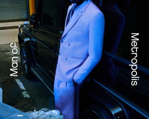 Abdulaye Niang covers Man of Metropolis November 2020 by Jordan Walczak