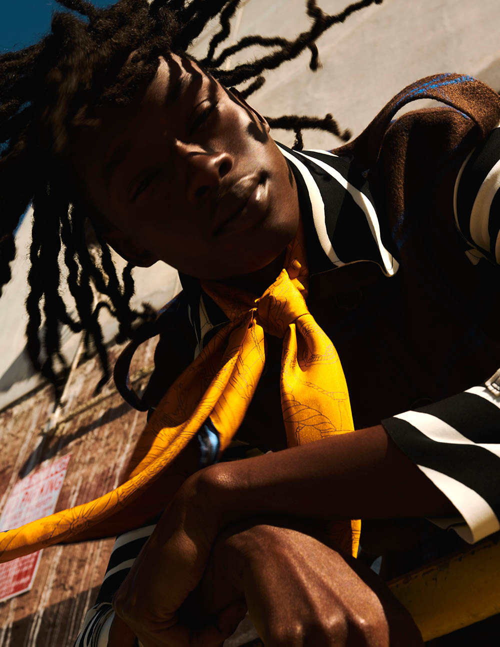 Abdulaye Niang covers Man of Metropolis November 2020 by Jordan Walczak