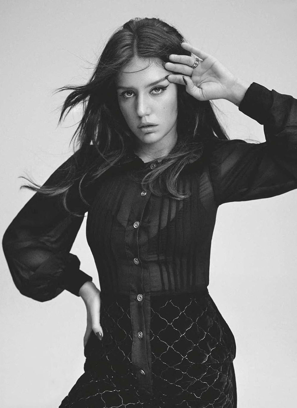 Adèle Exarchopoulos covers Elle France November 6th, 2020 by Nico Bustos
