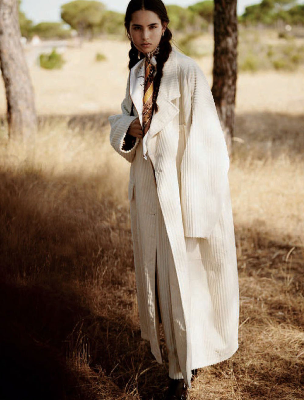Africa Penalver by Boo George for Vogue Spain November 2020