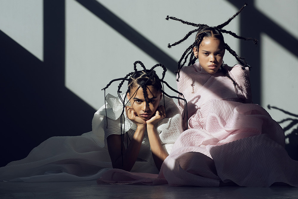 Amandine Pouilly and Symilone van Damme by Paul Morel for Wonderland Magazine Autumn 2020