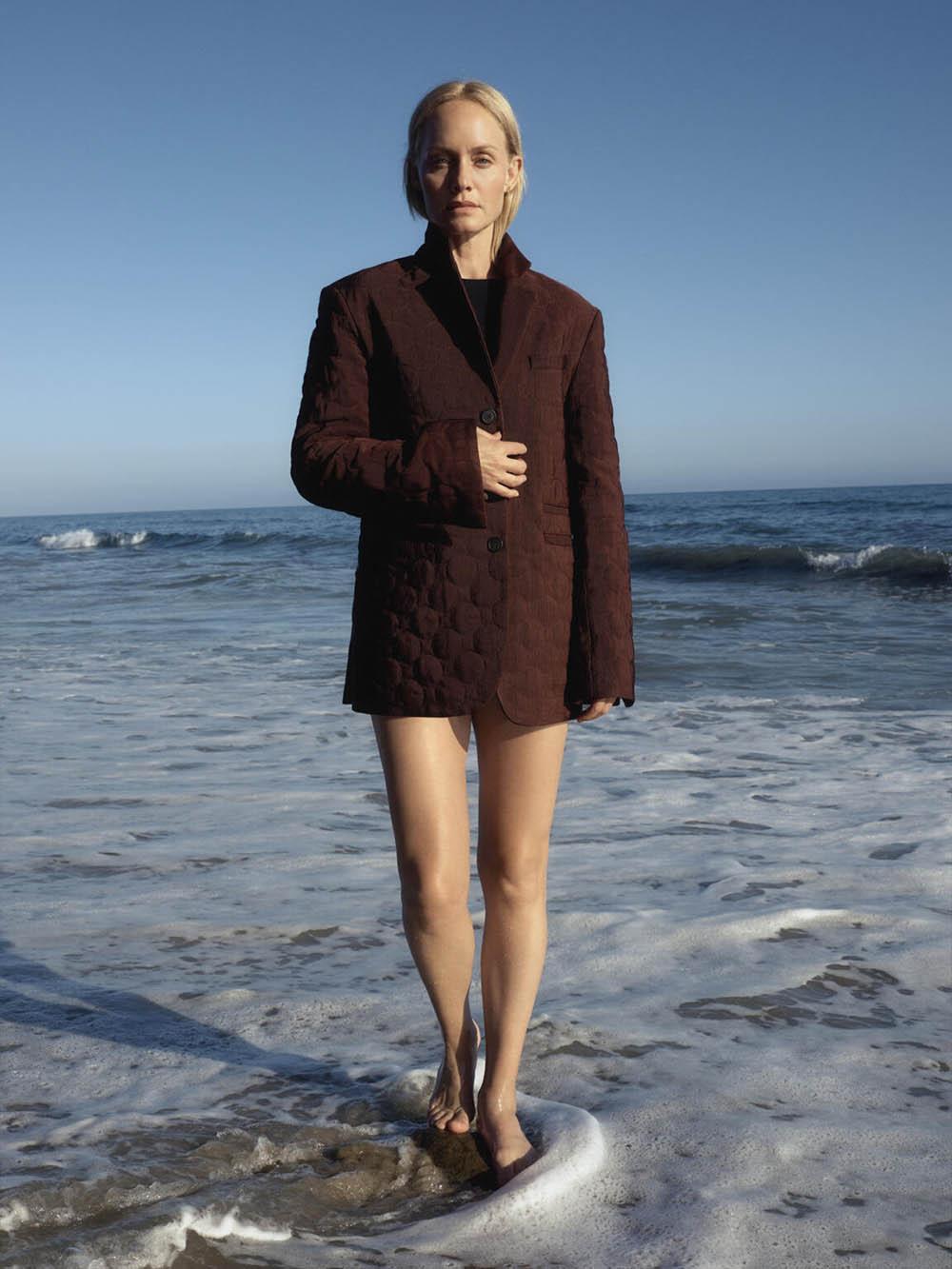 Amber Valletta by Zoë Ghertner for British Vogue November 2020