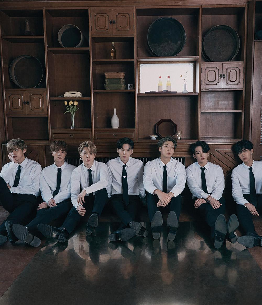 BTS covers WSJ. Magazine November 2020 by Hong Janghyun