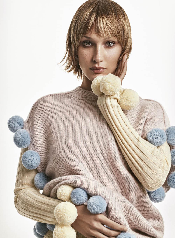 Bella Hadid by Christian MacDonald for Vogue US November 2020