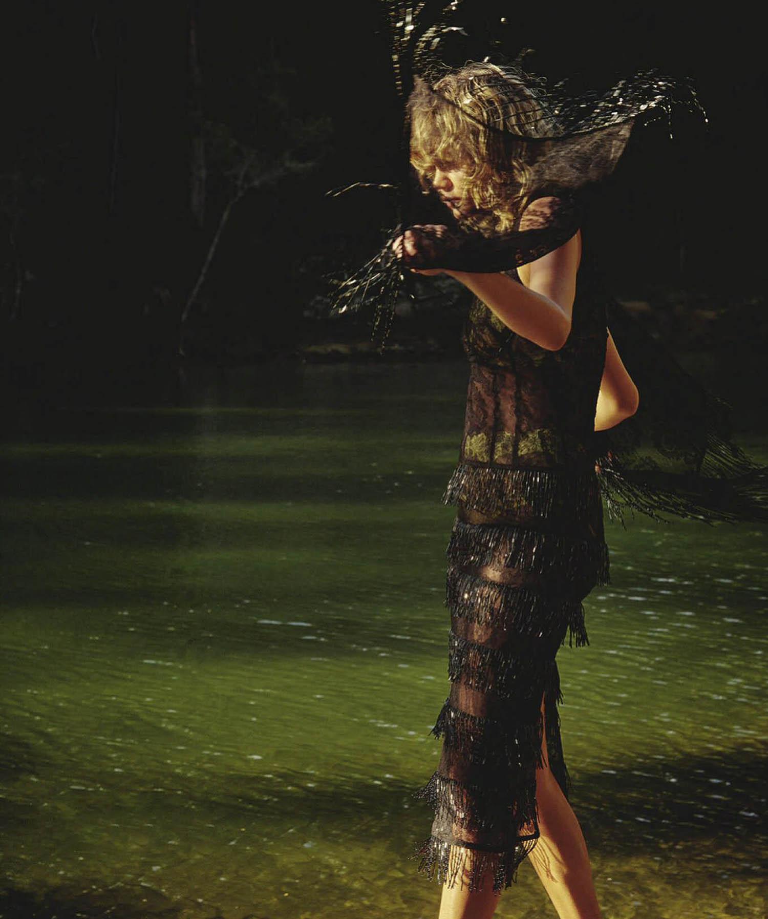 Billie-Jean Hamlet by Saskia Wilson for Vogue Australia November 2020