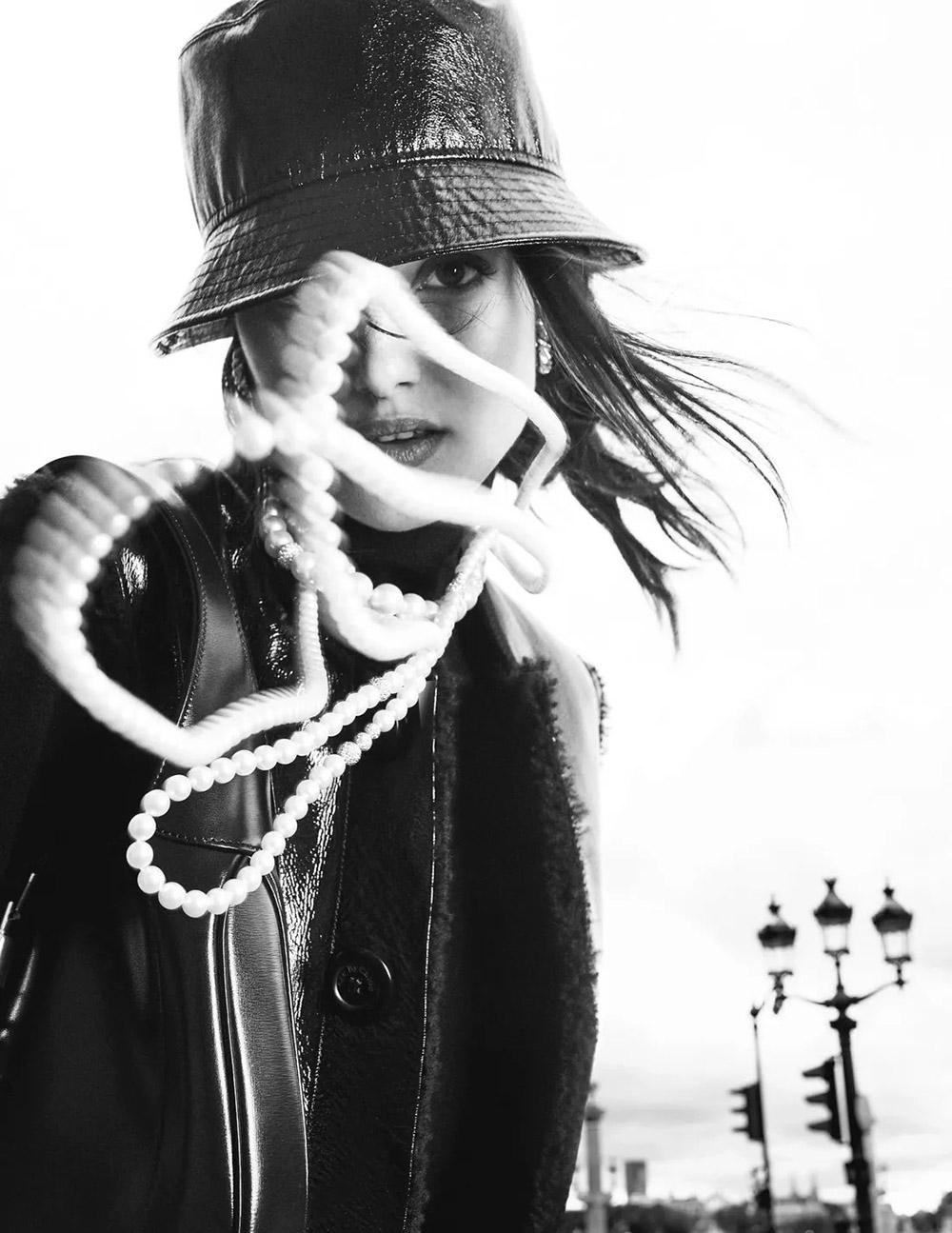 Blanca Padilla covers Madame Figaro November 20th, 2020 by Luc Braquet