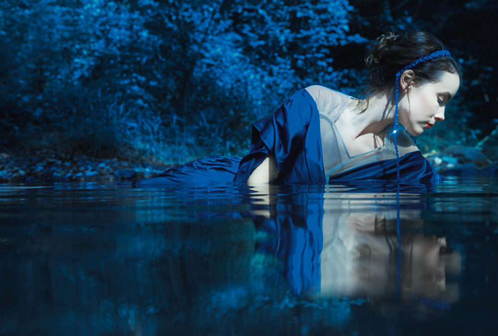 Brianna Killion Heck by Erik Madigan Heck for Harper's Bazaar UK November 2020