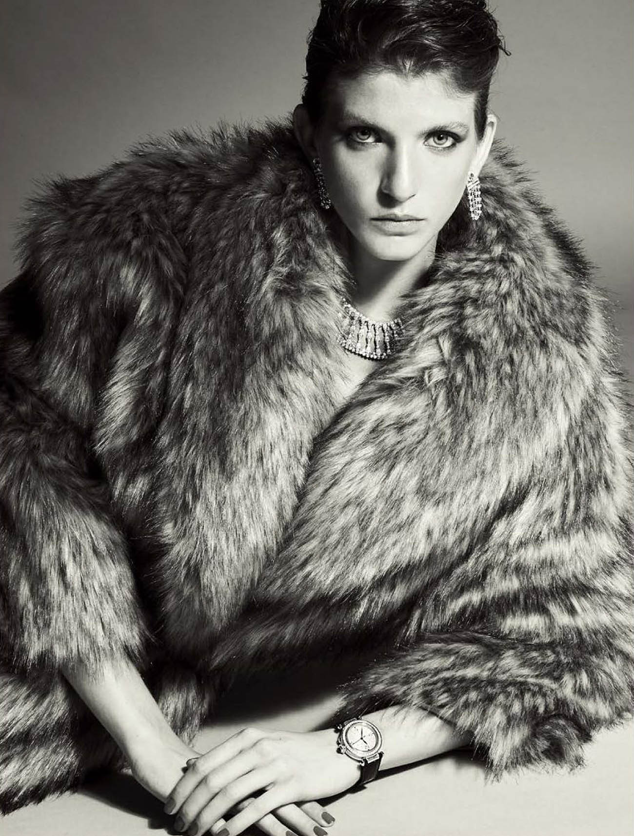 Caterina Ravaglia by Alberto Tandoi for L'Officiel Italia Issue 34