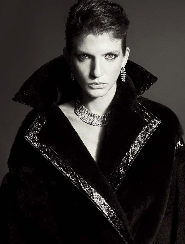 Caterina Ravaglia by Alberto Tandoi for L'Officiel Italia Issue 34