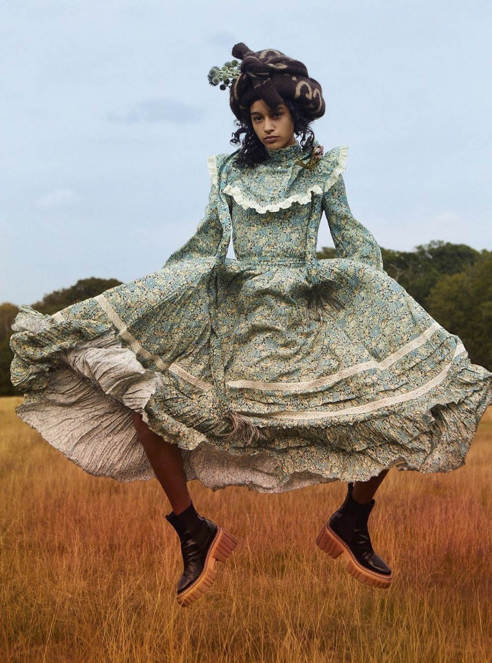 Damaris Goddrie by Quentin Jones for Harper's Bazaar UK November 2020