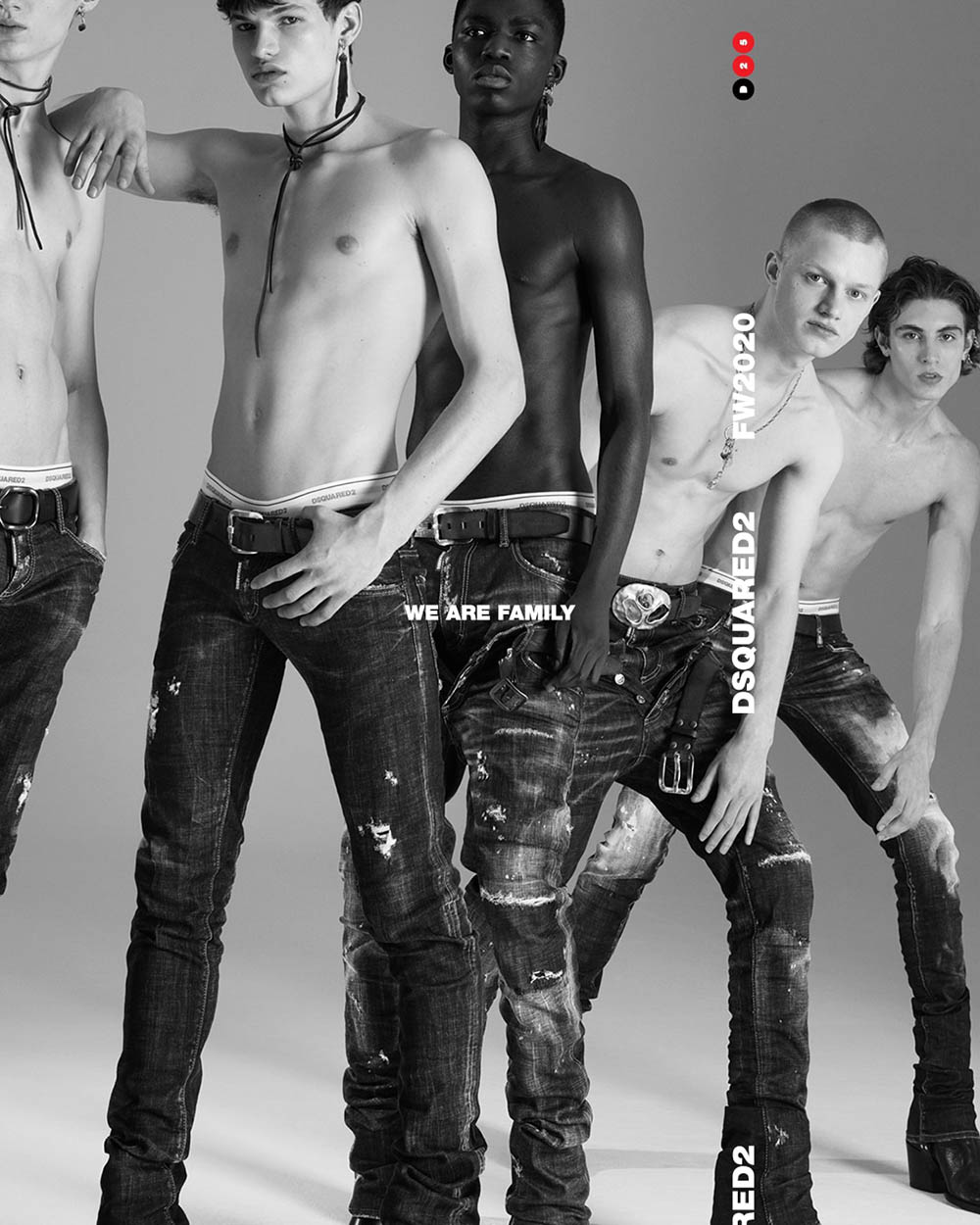 Dsquared2 Fall-Winter 2020 Campaign