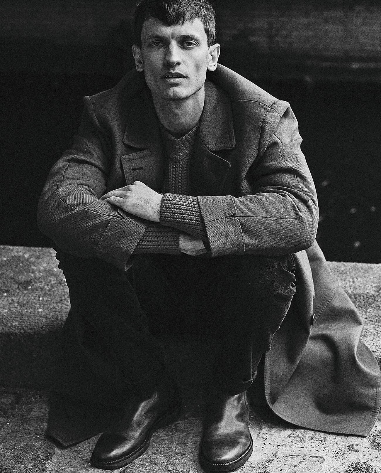Eddie Klint by Marco van Rijt for Icon Italia Issue 62