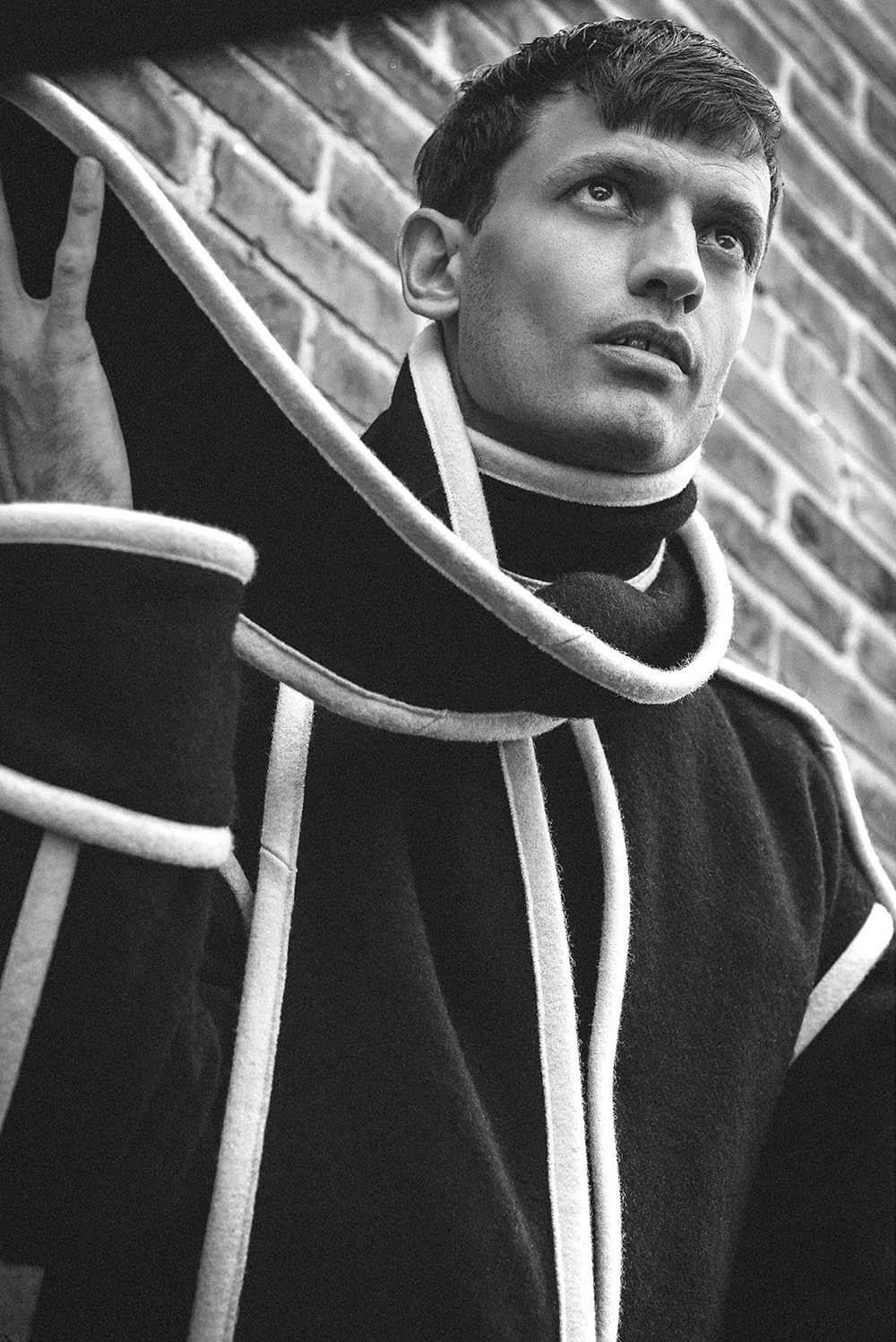 Eddie Klint by Marco van Rijt for Icon Italia Issue 62