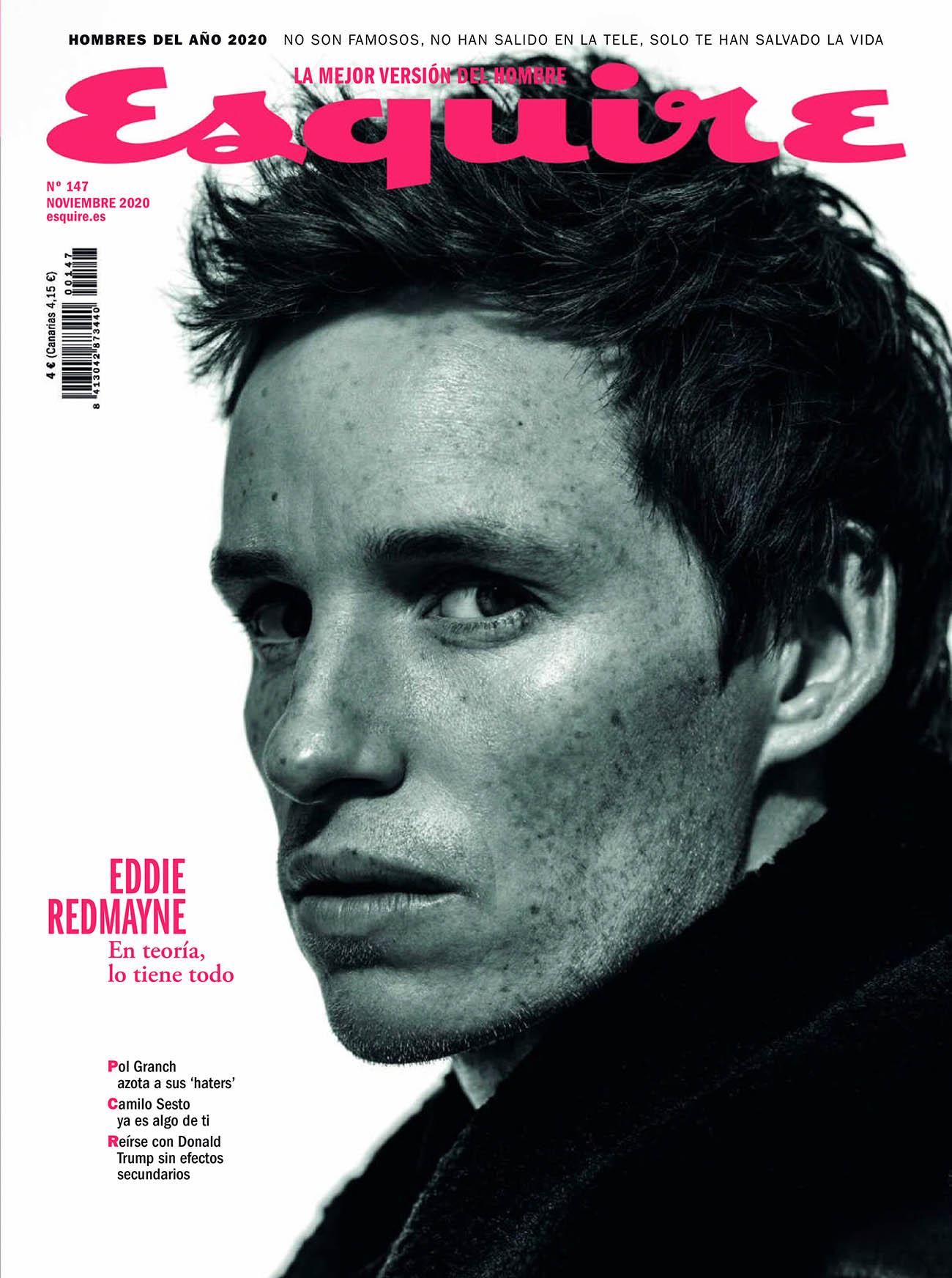 Eddie Redmayne covers Esquire Spain November 2020 by Juankr
