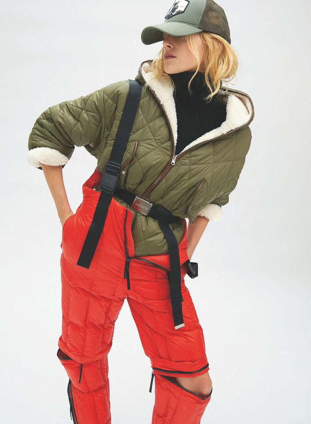 Eliza Kallmann by Jesse Laitinen for Elle France November 6th, 2020