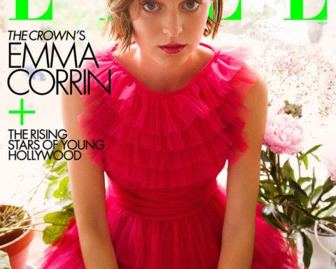 Emma Corrin covers Elle US November 2020 by Greg Williams