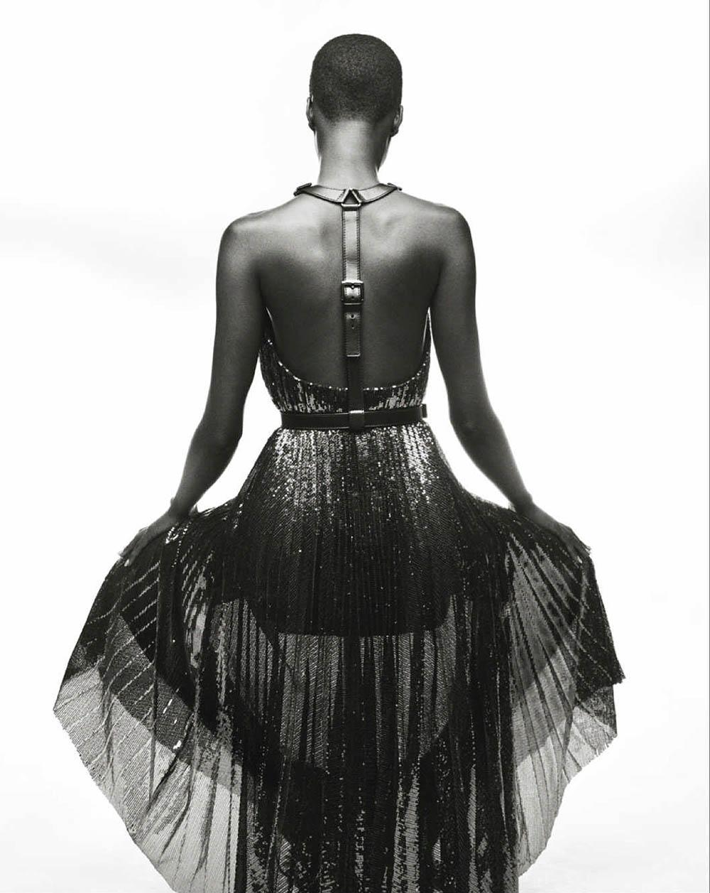 Fatou Jobe by Tom Schirmacher for Elle UK November 2020