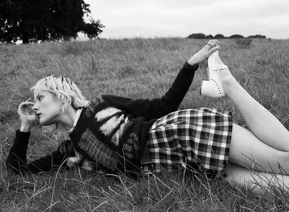 ''Field of Vision'' by Emma Summerton for V Magazine Fall 2020