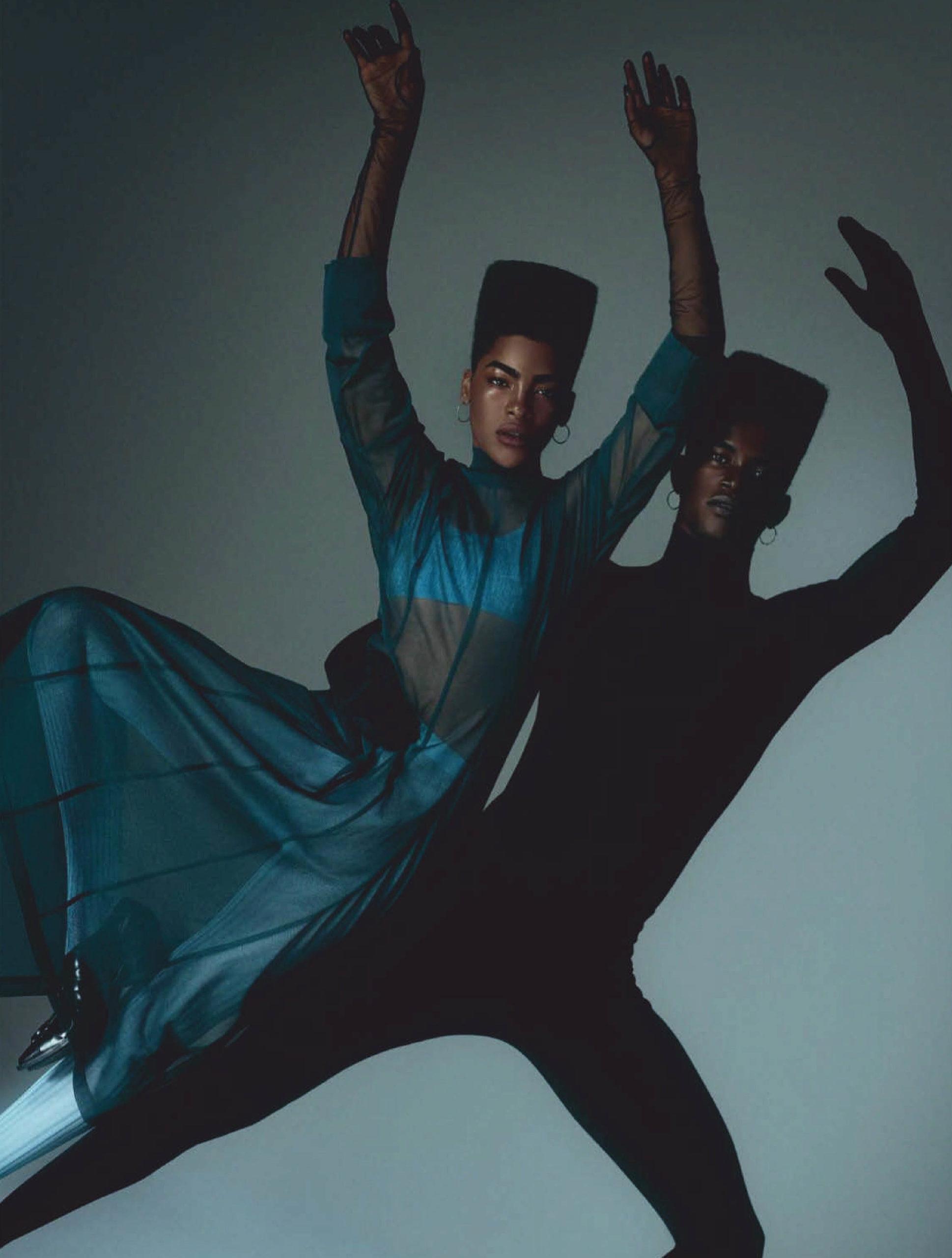 Geordette Cervantes and Salomon Diaz by Daniel Clavero for Vogue Mexico & Latin America November 2020