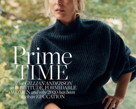 Gillian Anderson covers Porter Magazine November 30th, 2020 by Liz Collins