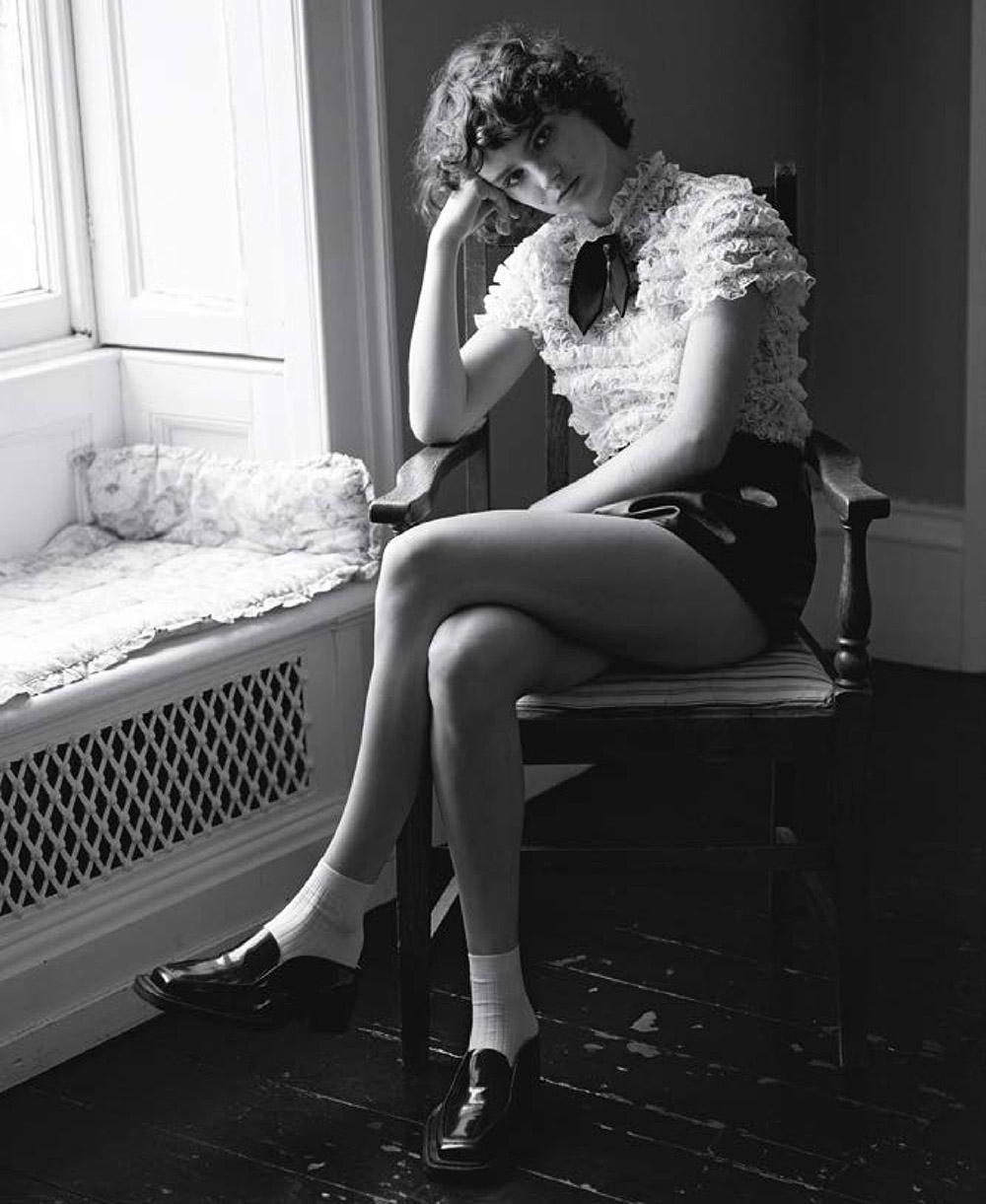 Giselle Norman covers M Le magazine du Monde November 28th, 2020 by Alasdair McLellan