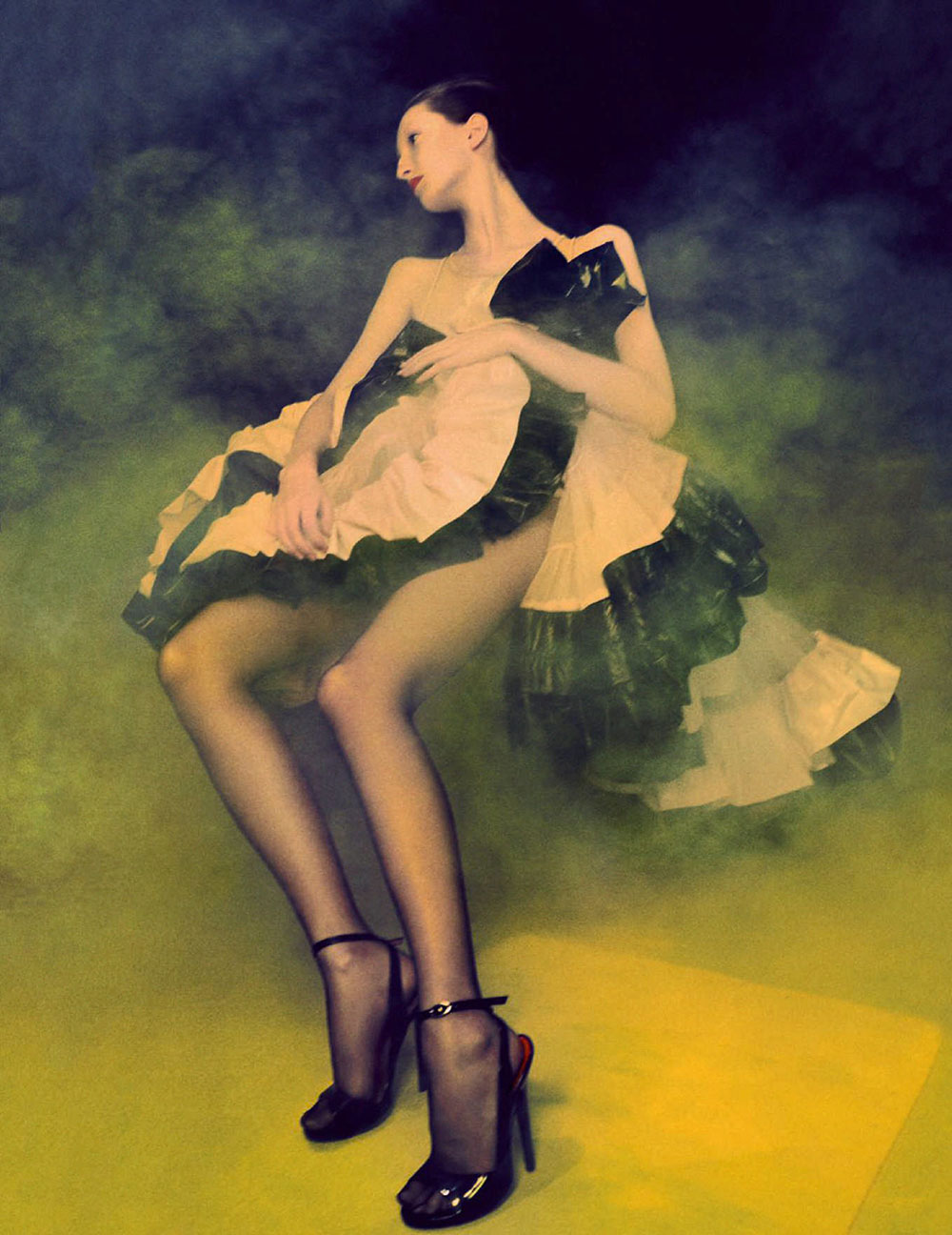 Grace Sharp by Elizaveta Porodina for Vogue Germany November 2020