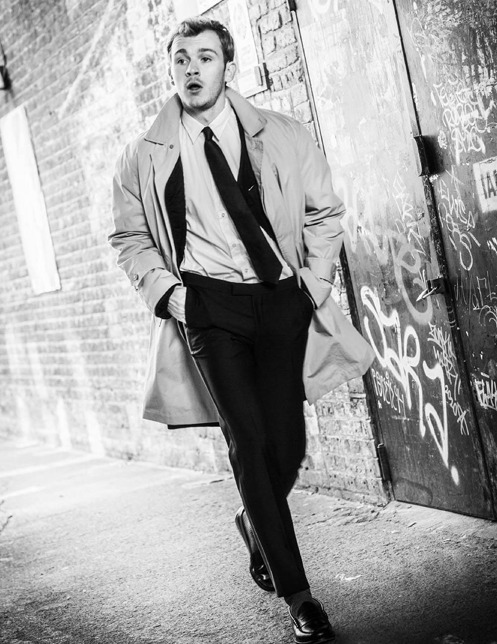 Harry Lawtey covers Man of Metropolis November 2020 by Lee Malone