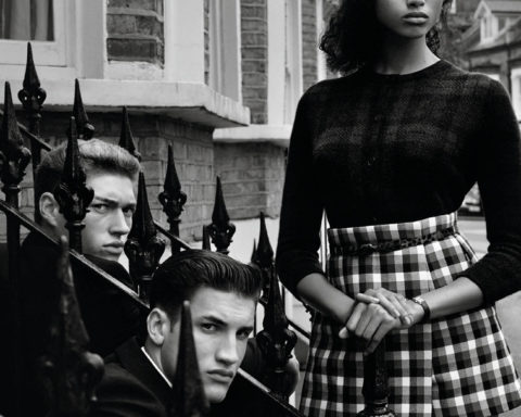 ''Here London'' by Alasdair McLellan for Vogue Paris November 2020