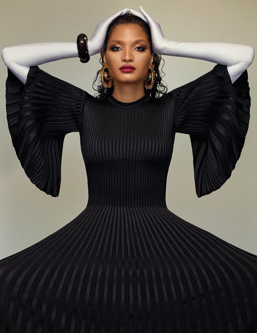 Indya Moore covers Vogue Spain November 2020 by Thomas Whiteside