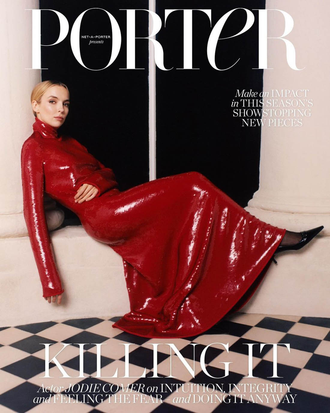 Jodie Comer covers Porter Magazine November 16th, 2020 by Juliette Cassidy