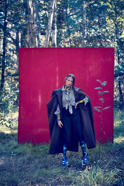Joy Van der Eecken covers Madame Figaro November 27th, 2020 by Thiemo Sander