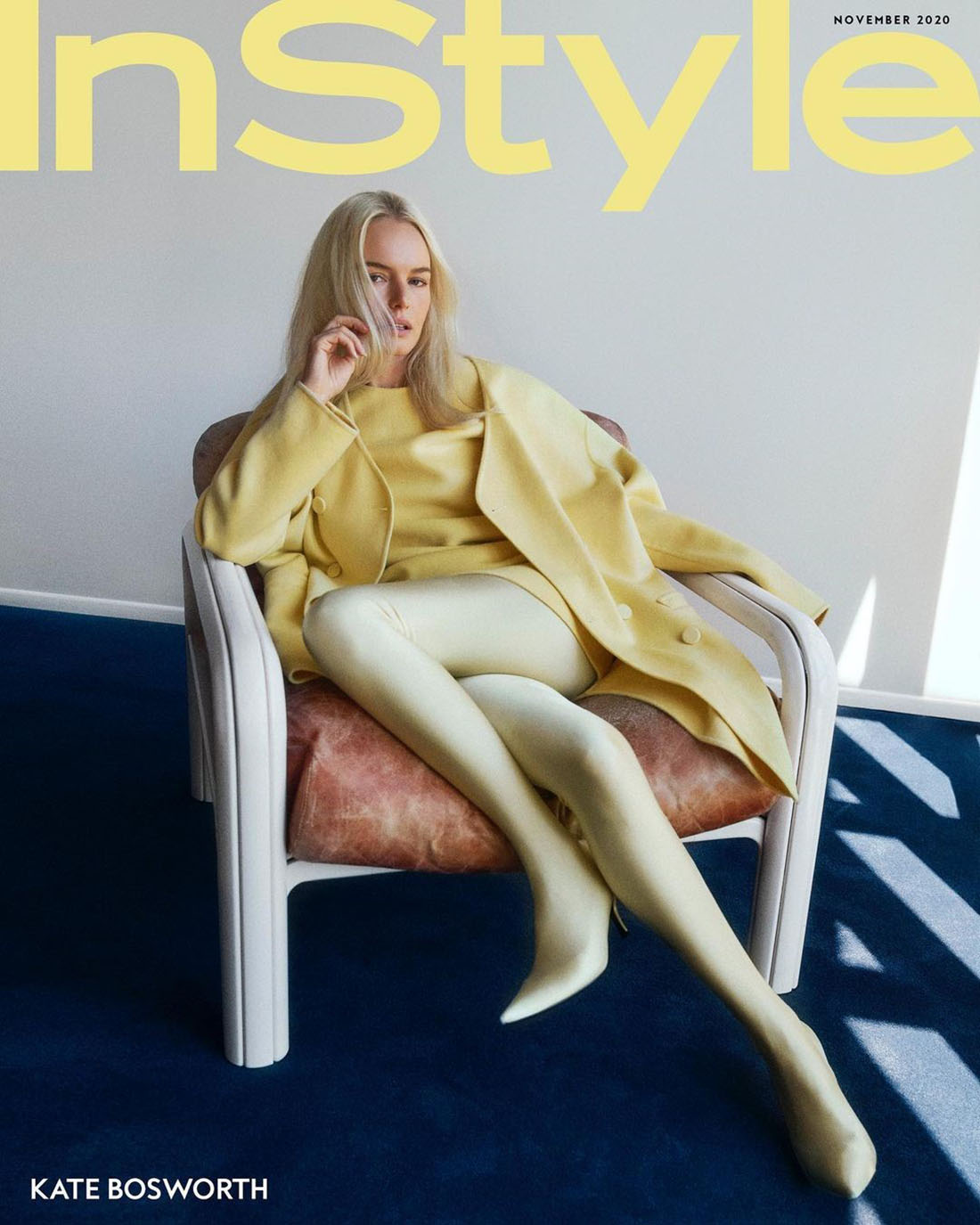 Kate Bosworth covers InStyle US November 2020 by Olivia Malone