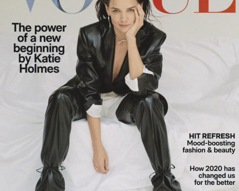 Katie Holmes covers Vogue Australia November 2020 by Bec Parsons