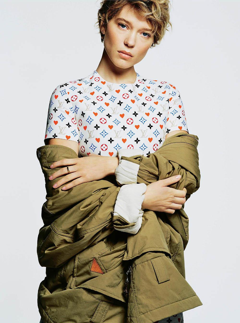 Léa Seydoux covers The Sunday Times Style November 1st, 2020 by David Ferrua
