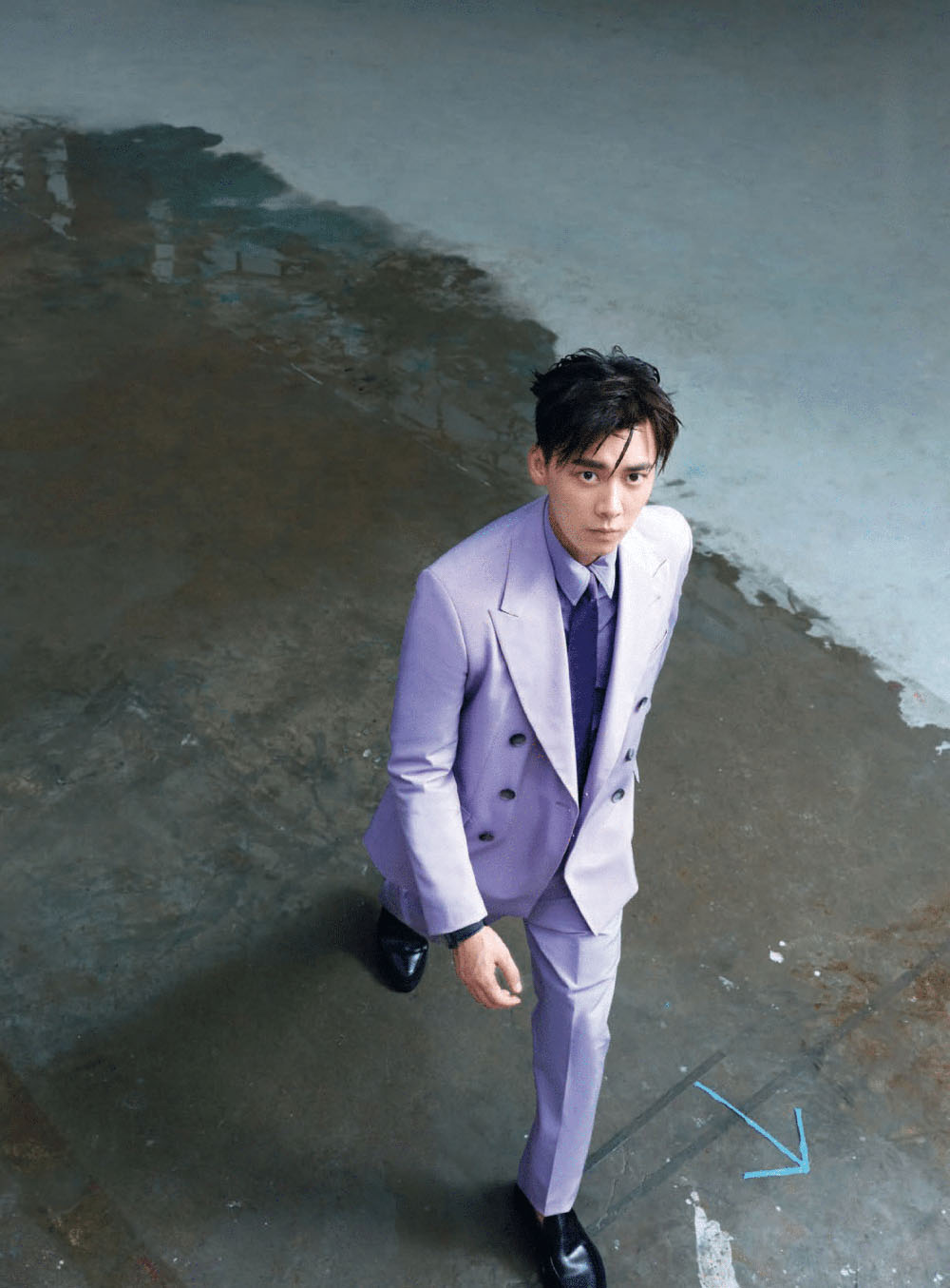 Li Yifeng covers GQ China October 2020 by Zack Zhang