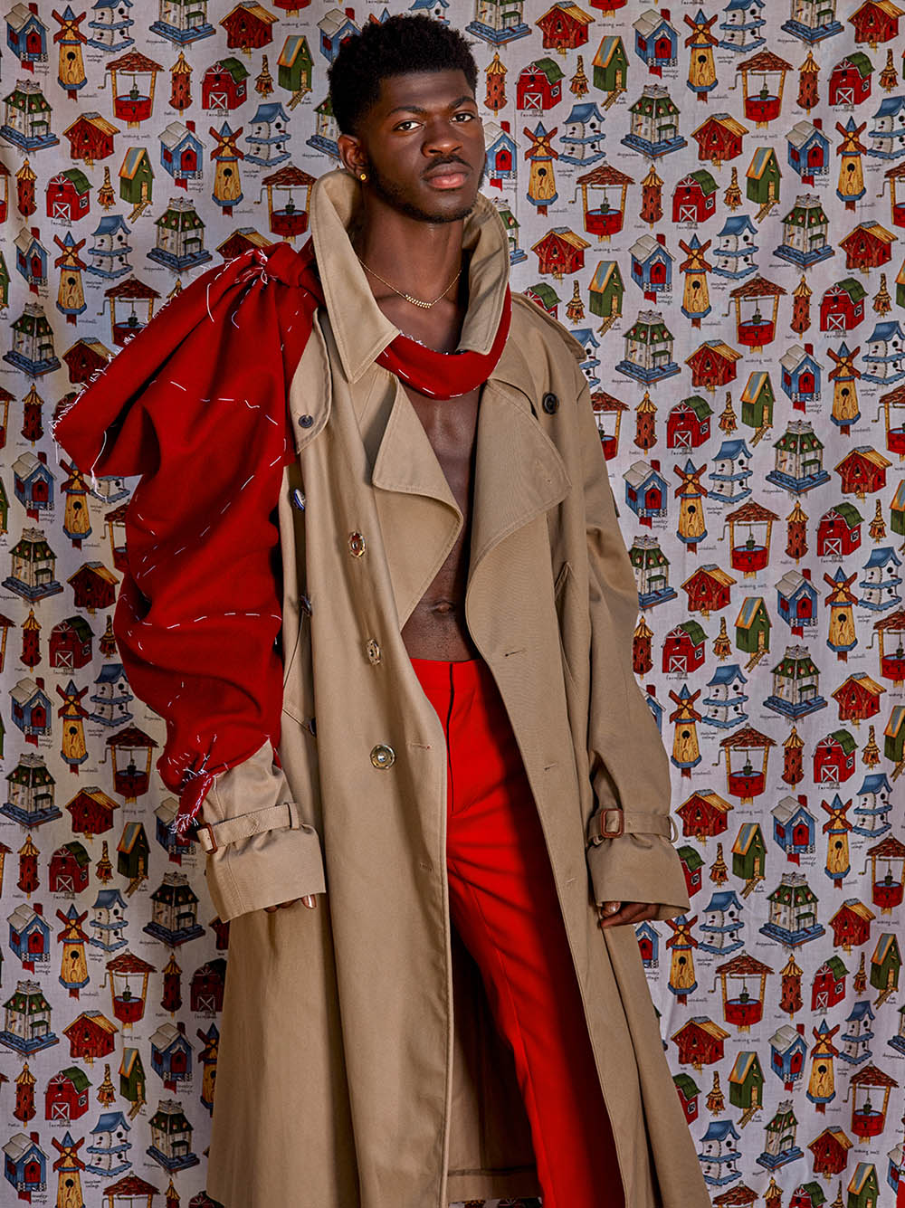Lil Nas X covers CR MEN Issue 11 by Roe Ethridge
