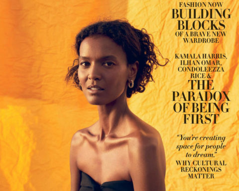 Liya Kebede covers Harper's Bazaar US November 2020 by Christopher Anderson