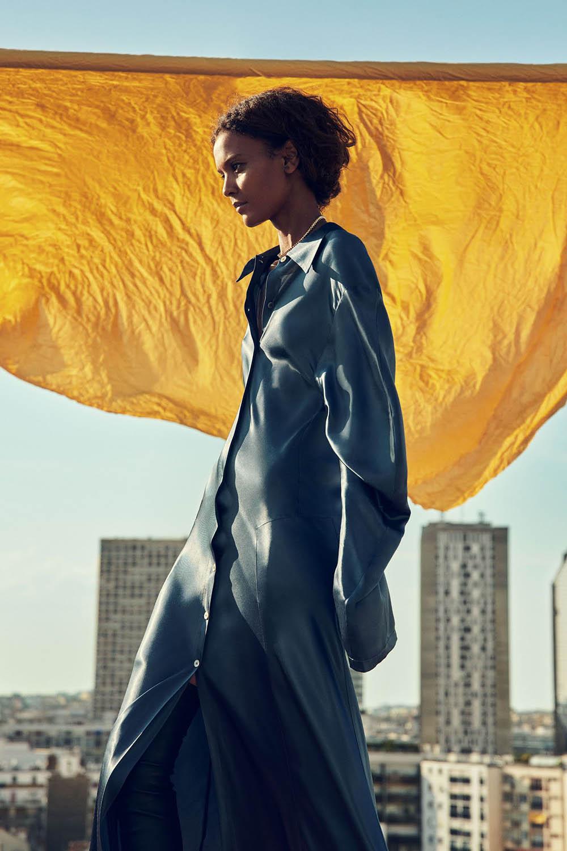 Liya Kebede covers Harper's Bazaar US November 2020 by Christopher Anderson
