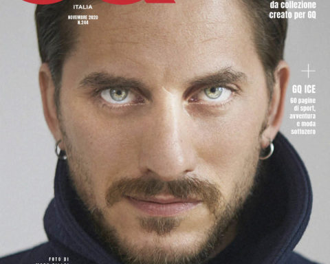 Luca Marinelli covers GQ Italia November 2020 by Mark Pillai