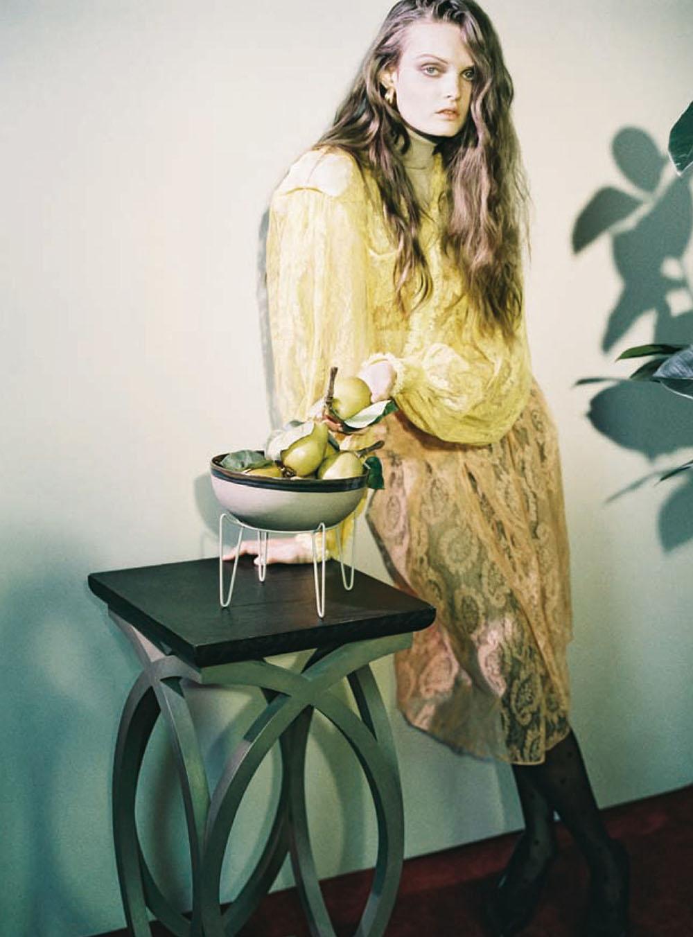 Lulu Tenney by Heji Shin for Vogue China November 2020