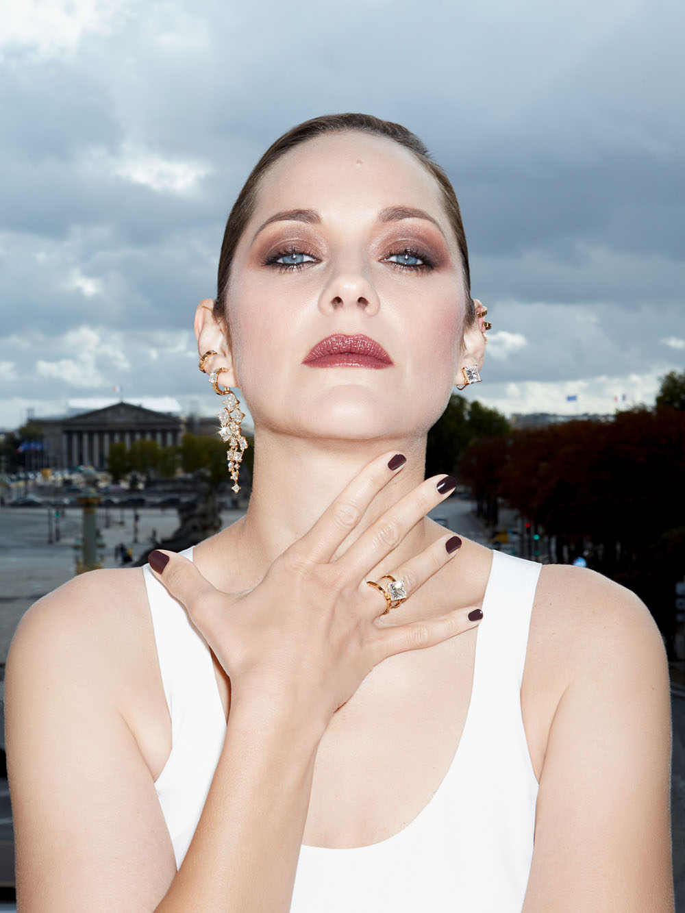 Marion Cotillard covers Harper's Bazaar Russia November 2020 by Claire Rothstein