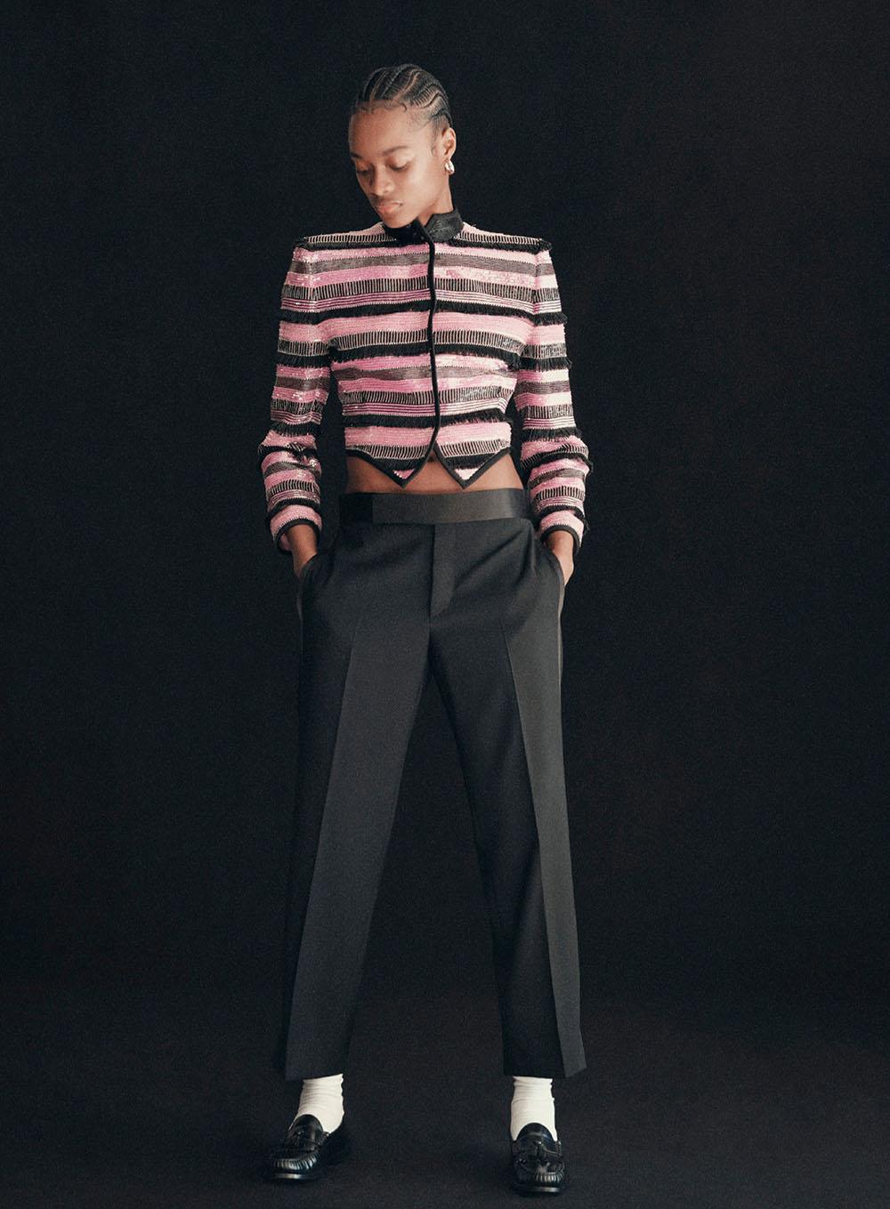 Mayowa Nicholas by Jody Rogac for Harper's Bazaar US November 2020