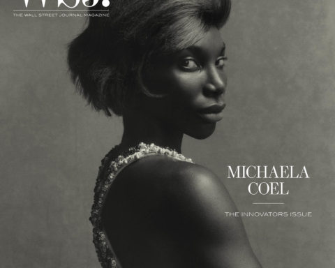 Michaela Coel covers WSJ. Magazine November 2020 by Tyler Mitchell