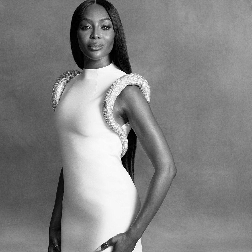 Naomi Campbell covers Vogue US November 2020 by Ethan James Green