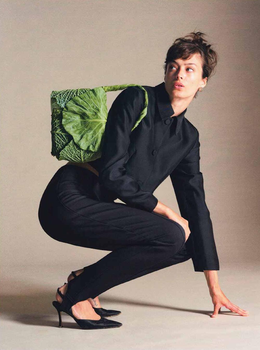 Nike Praesto Nordström covers Eurowoman Denmark November 2020 by Nikolaj Didriksen