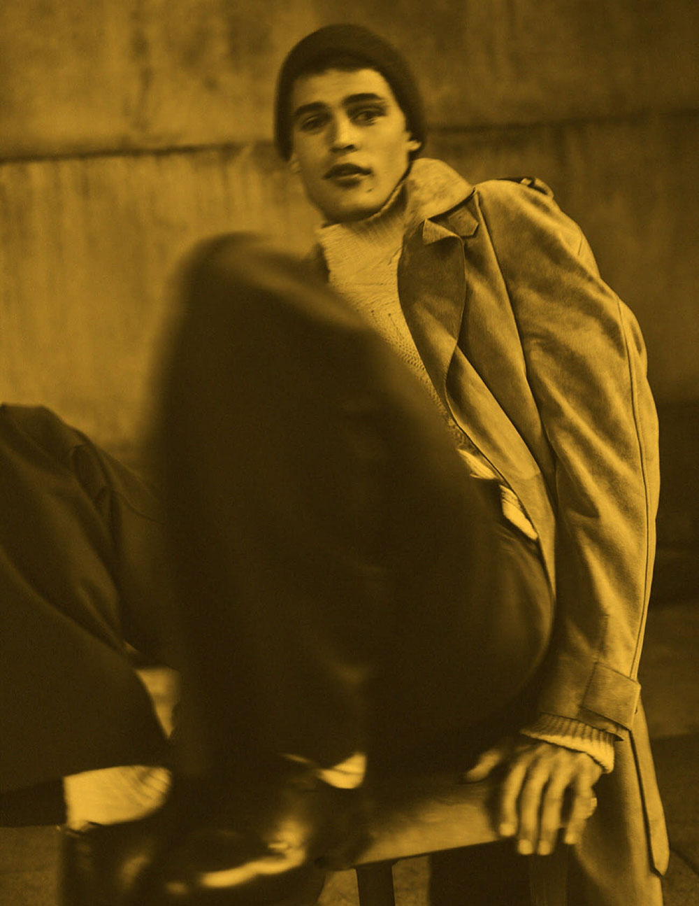Parker van Noord by Annemarieke van Drimmelen for Vogue Hommes Paris Fall-Winter 2020