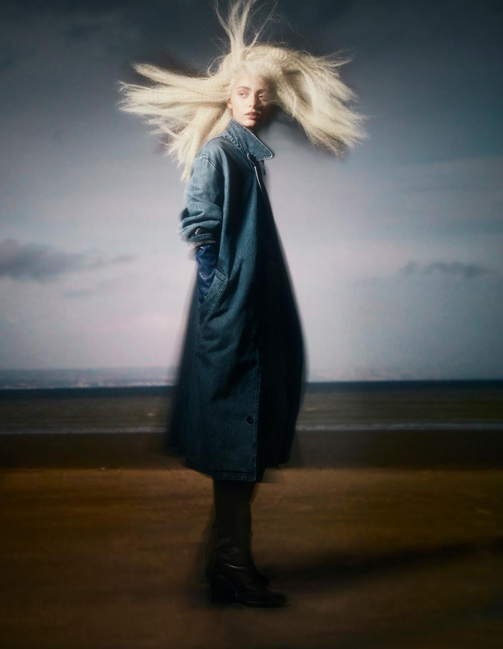 Patrycja Piekarska by Sølve Sundsbø for Vogue China November 2020