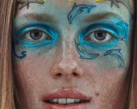 Rianne van Rompaey covers Vogue Paris November 2020 by Mikael Jansson