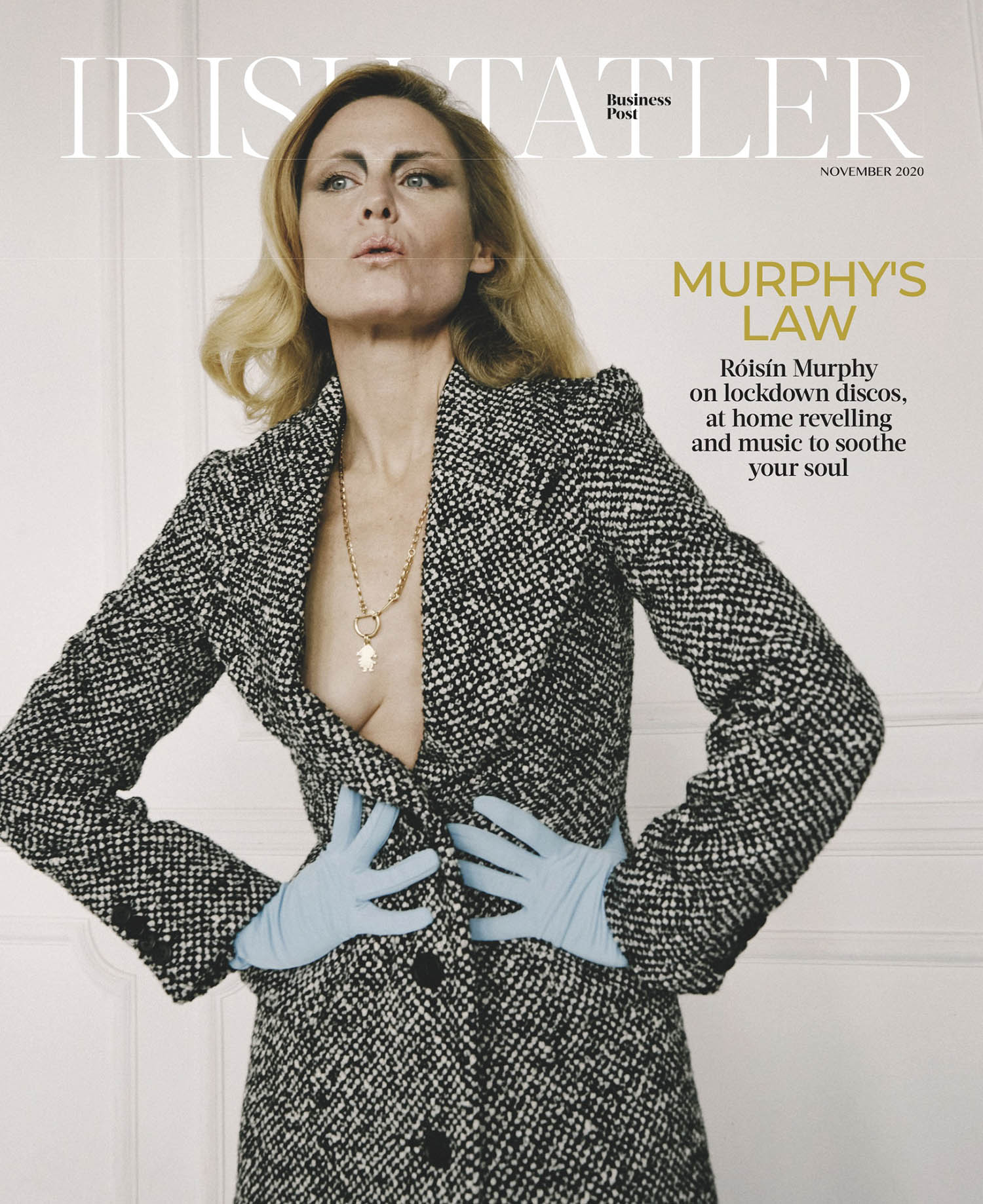 Róisín Murphy covers Irish Tatler November 2020 by Conor Clinch