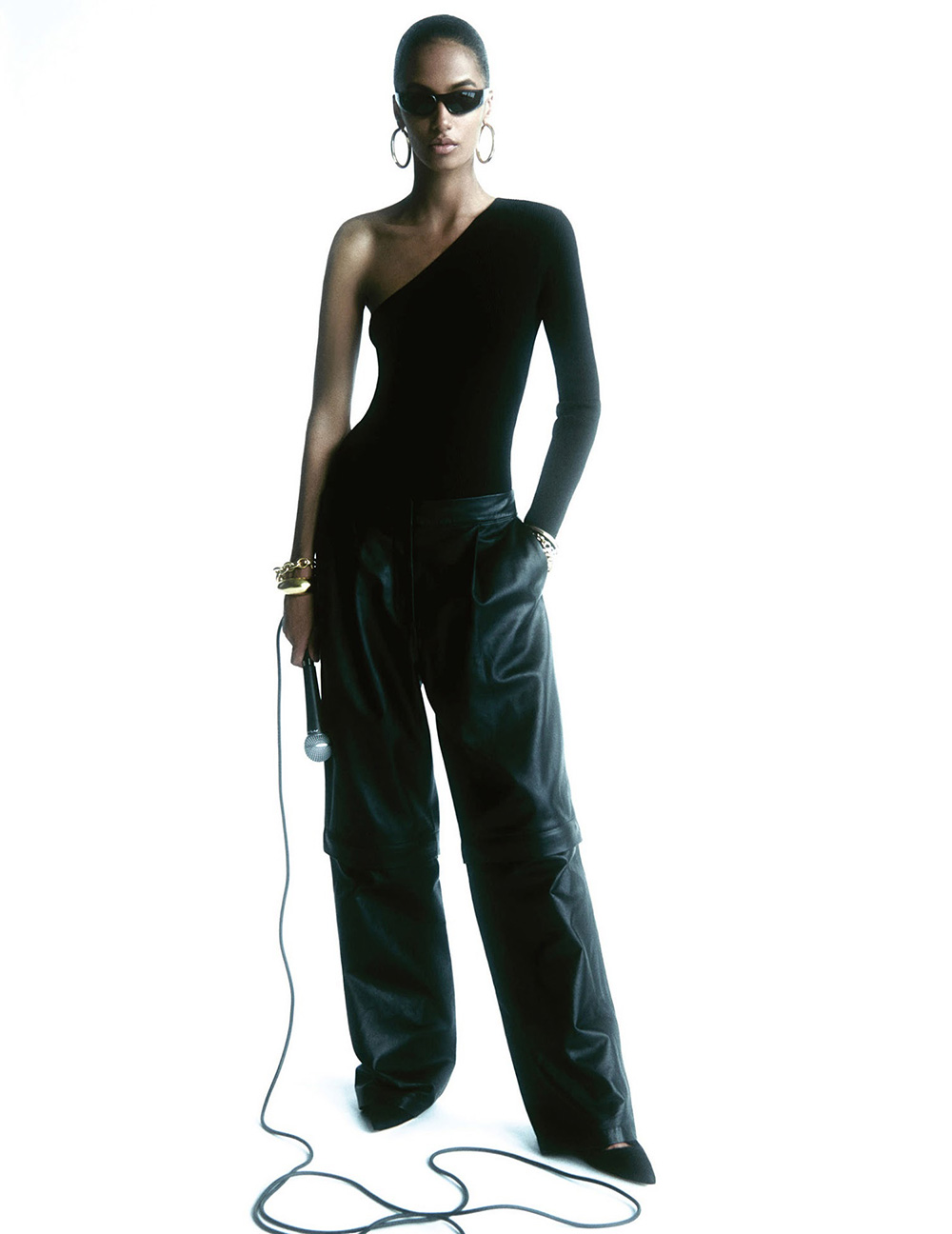 Sacha Quenby by Robin Galiegue for Vogue Paris November 2020